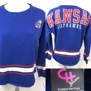 University Of Kansas Jayhawks Sweatshirt Big